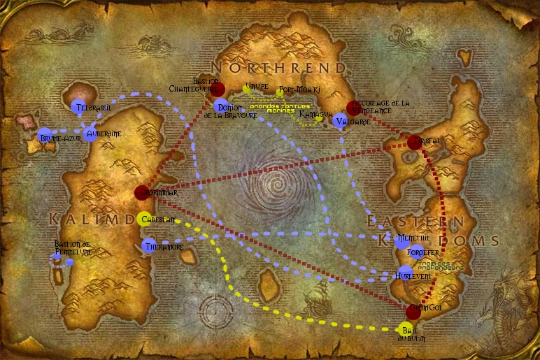 Wow 3 3 5 leveling guide